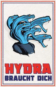 Hydra braucht dich!